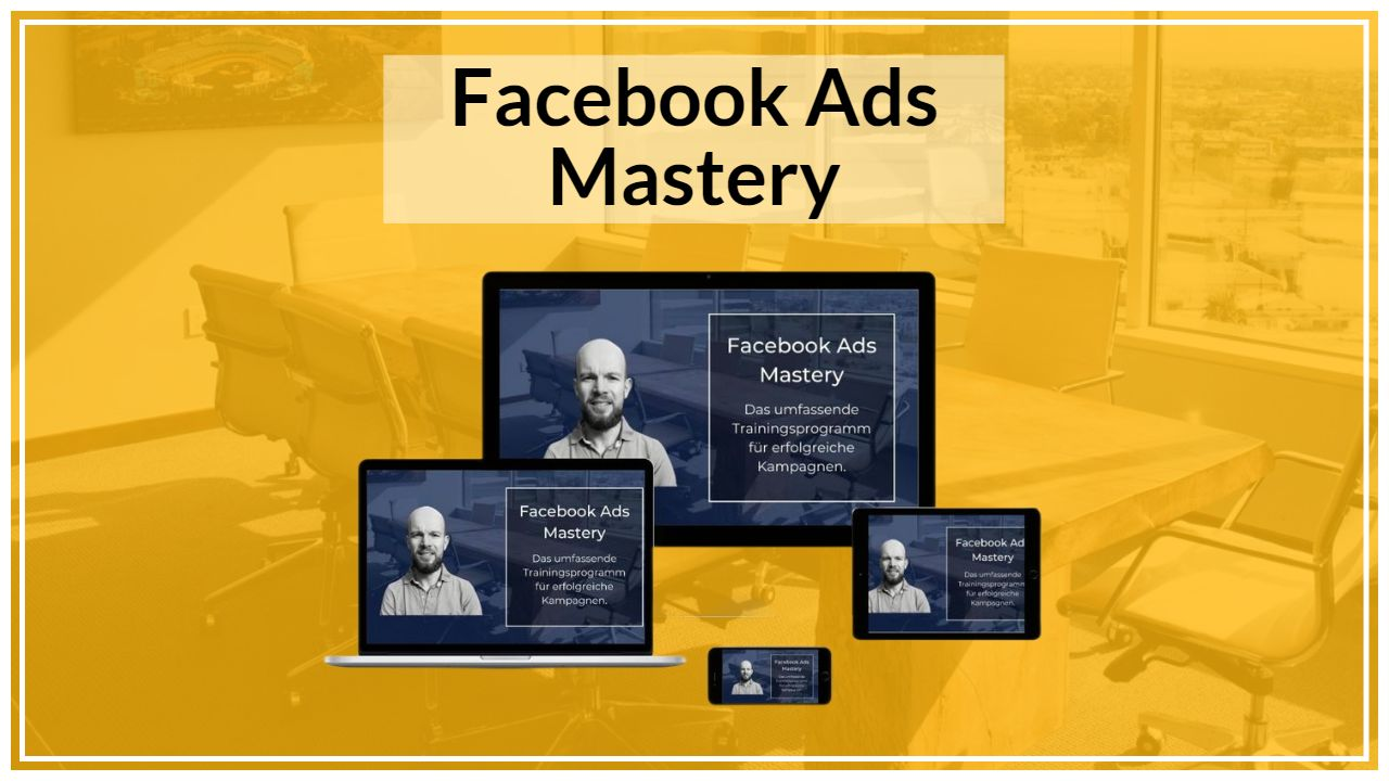 Facebook Ads Mastery Banner
